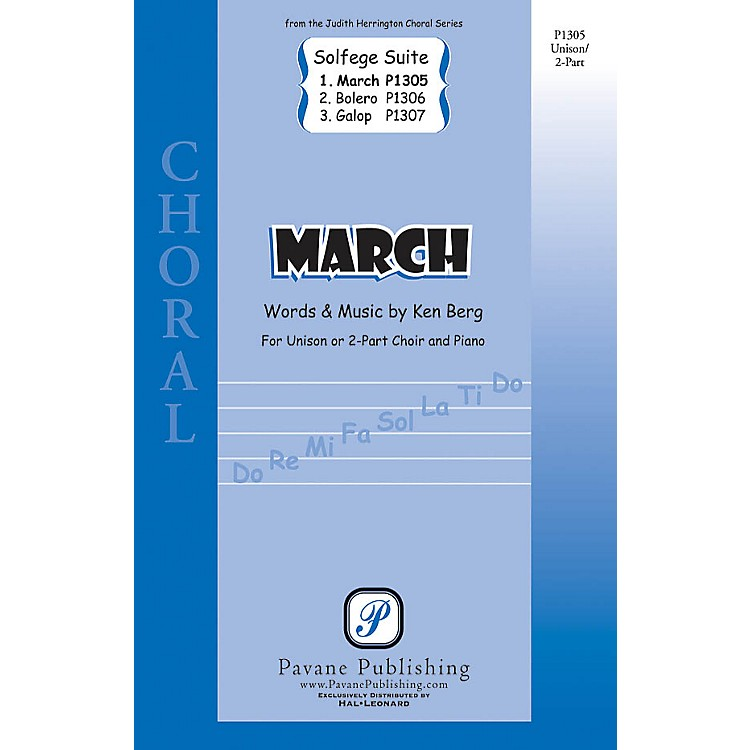 Pavane March (from Solfege Suite) UNIS/2PT composed by Ken Berg