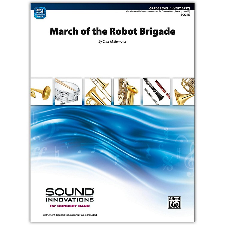 AlfredMarch of the Robot Brigade Conductor Score 1 (Very Easy)