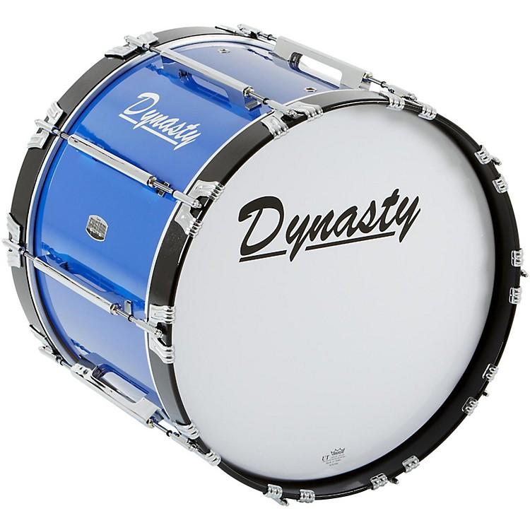 DynastyMarching Bass DrumBlue20 x 14 in.