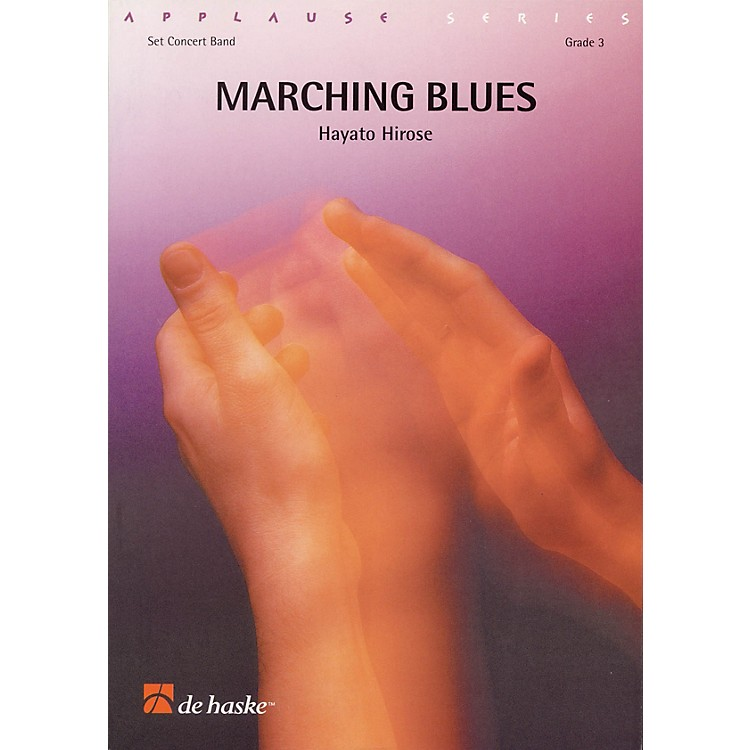 De Haske MusicMarching Blues Concert Band Level 3 Composed by Hayato Hirose
