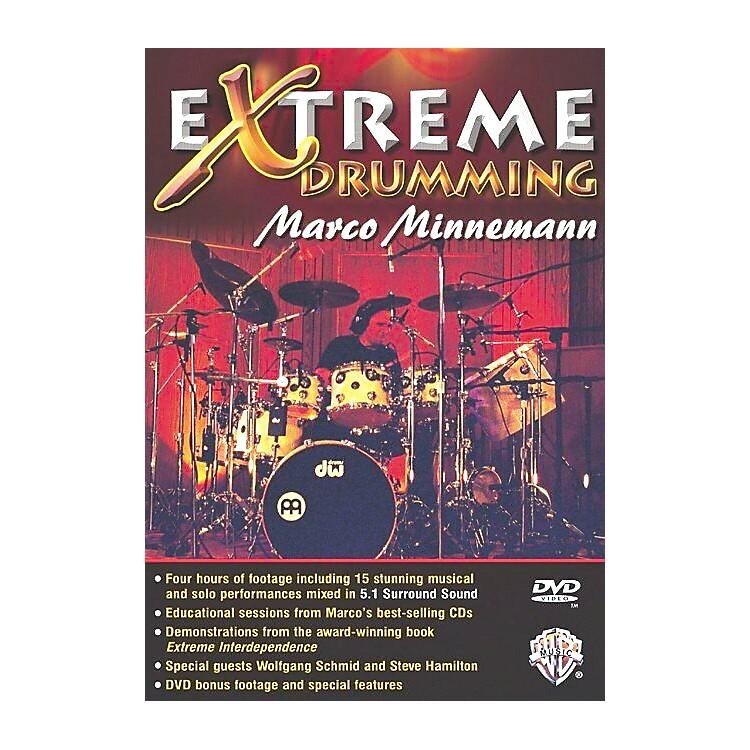 Warner BrosMarco Minnemann: Extreme Drumming (DVD)