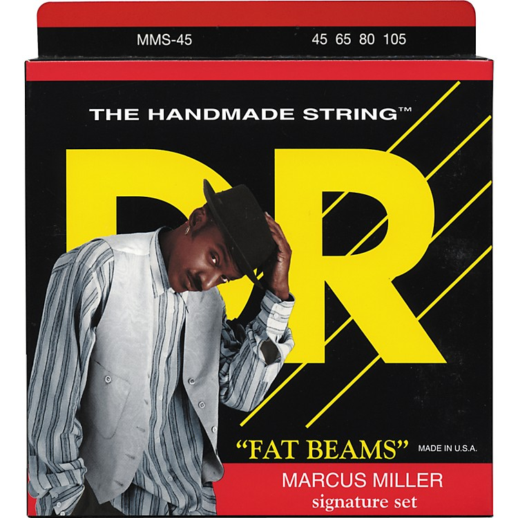 DR Strings Marcus Miller Fat Beams 4 String Bass (45, 65, 80, 105)
