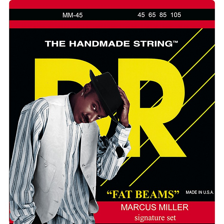 DR StringsMarcus Miller MM-45 Fat Beams Medium 4-String Bass Strings
