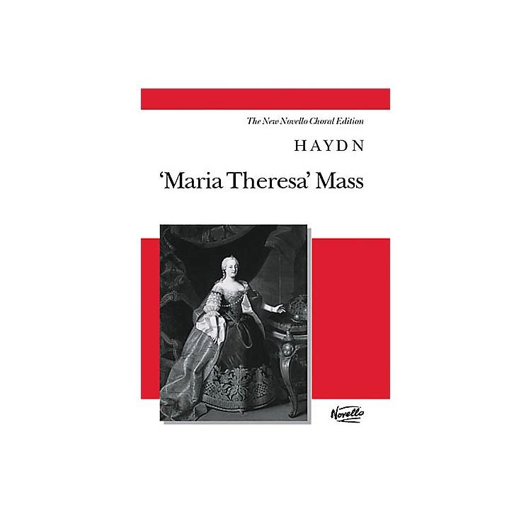NovelloMaria Theresa Mass (Vocal Score The New Novello Choral Edition) SATB Composed by Joseph Haydn