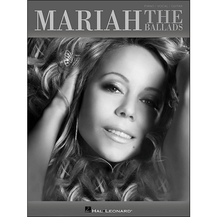 Hal LeonardMariah Carey - The Ballads arranged for piano, vocal, and guitar (P/V/G)