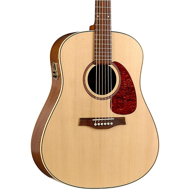 Seagull Maritime SWS Semi-Gloss QI Acoustic-Electric Guitar Natural