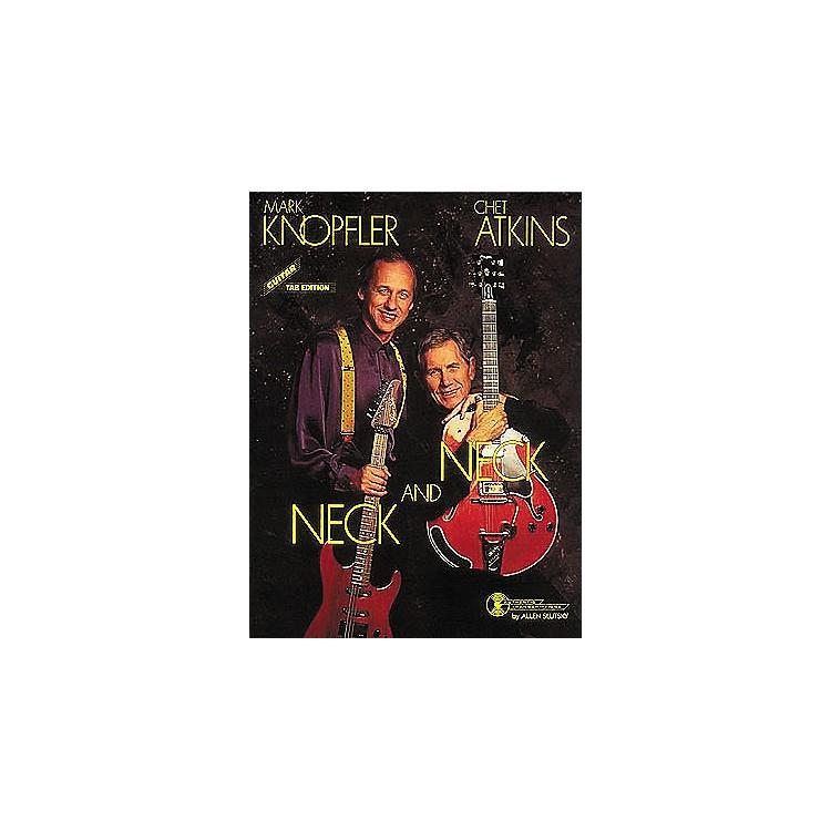 Hal LeonardMark Knopfler/Chet Atkins - Neck and Neck Guitar Tab Book