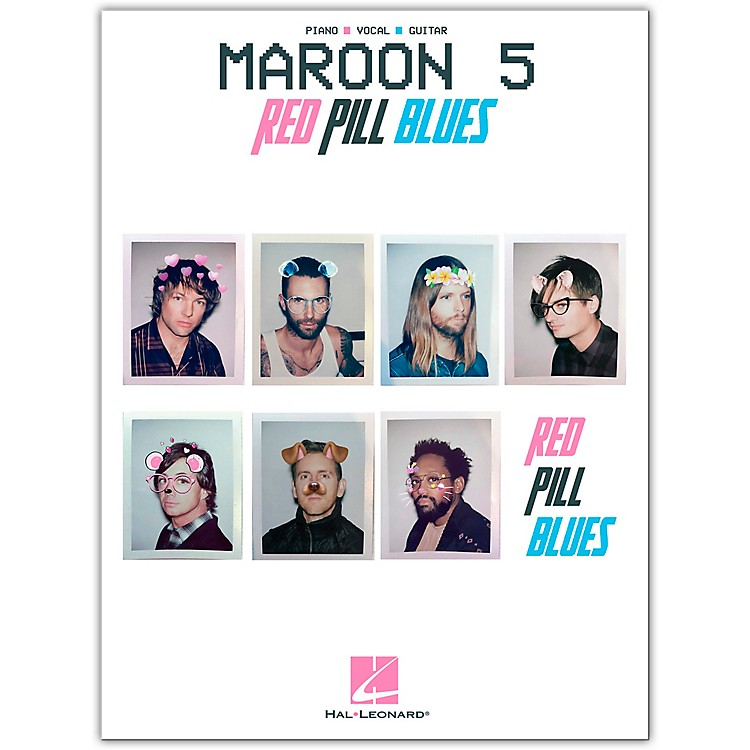 Hal LeonardMaroon 5 - Red Pill Blues Piano/Vocal/Guitar Songbook