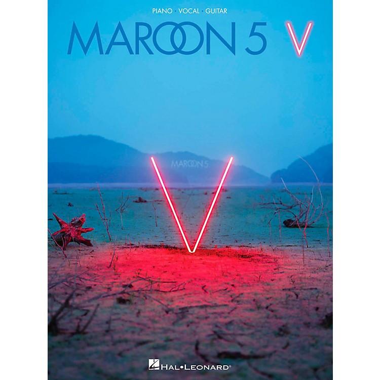 Hal LeonardMaroon 5 - V Piano/Vocal/Guitar Songbook