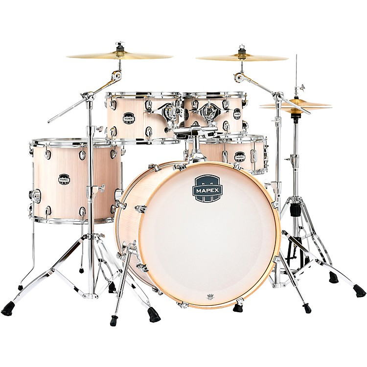 MapexMars Series 5-Piece Rock Shell Pack with 22 in. Bass DrumBonewoodChrome