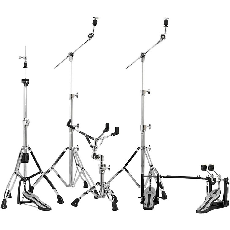 Mapex Mars Series HP6005-DP 5-Piece Hardware Pack with Double Bass Drum Pedal Chrome