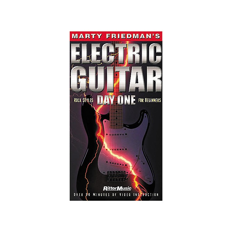 Hal LeonardMarty Friedman's Electric Guitar Day One Video