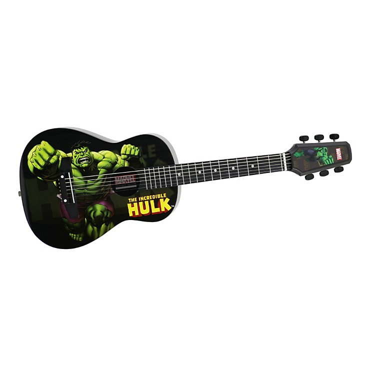 PeaveyMarvel Hulk 1/2 Size Acoustic Guitar