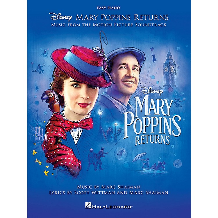 Hal LeonardMary Poppins Returns (Music from the Motion Picture Soundtrack) Easy Piano Songbook