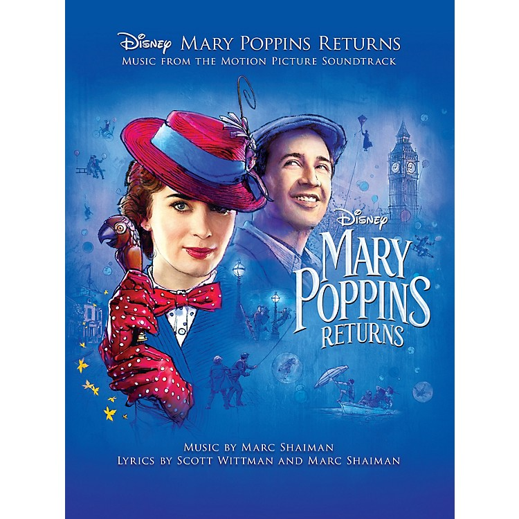 Hal Leonard Mary Poppins Returns Piano/Vocal/Guitar Songbook