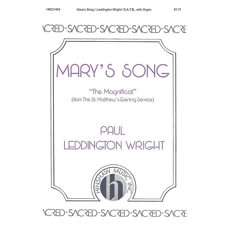 Hinshaw MusicMary's Song SATB composed by Paul Leddington Wright