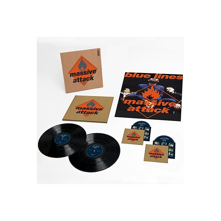 AllianceMassive Attack - Blue Lines [Remastered] [Deluxe Edition] [2LP/1CD/1DVD]