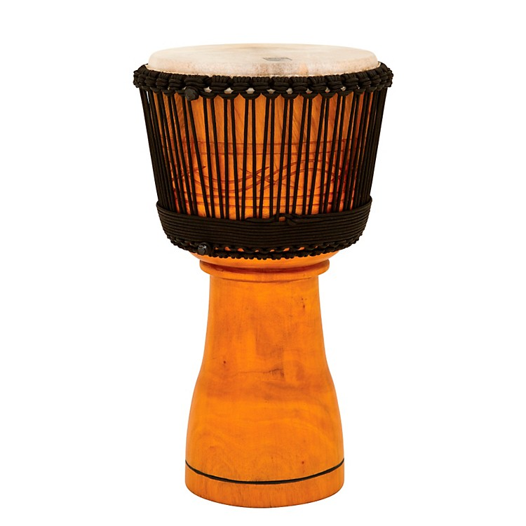 Toca Master Series Djembe with Padded Bag Natural Finish 12 in.