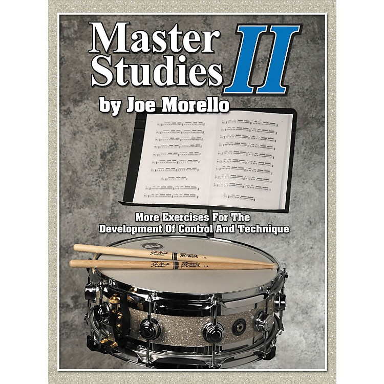 Modern DrummerMaster Studies 2 - More Exercises For The Development Of Control And Technique Book