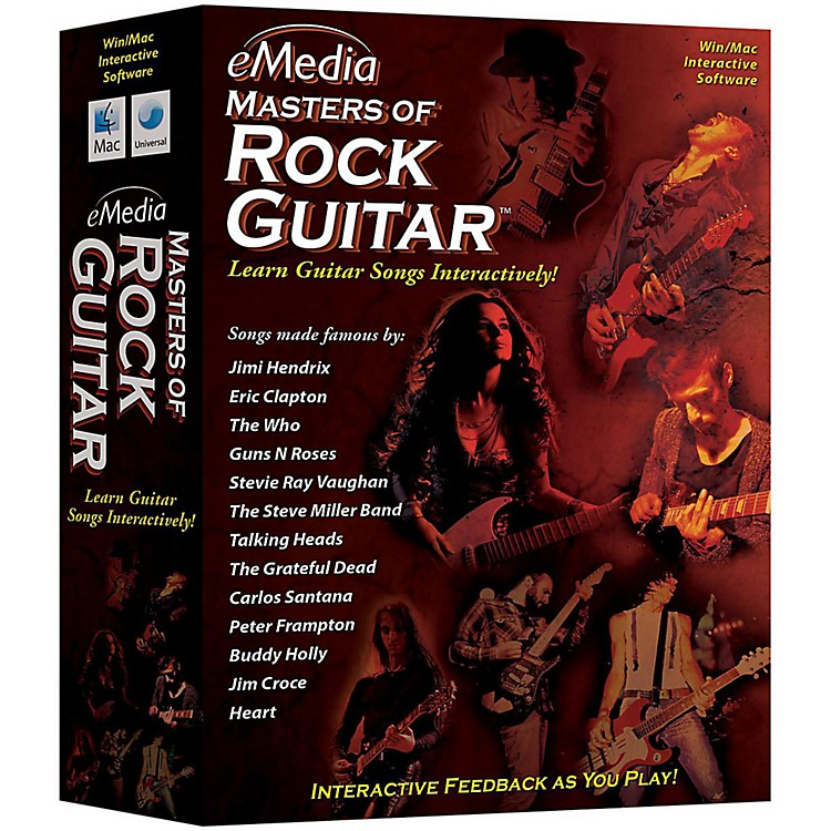 eMedia Master of Rock Guitar CD-ROM