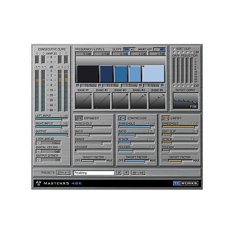TC Electronic MasterX5 Plug-In for PowerCore