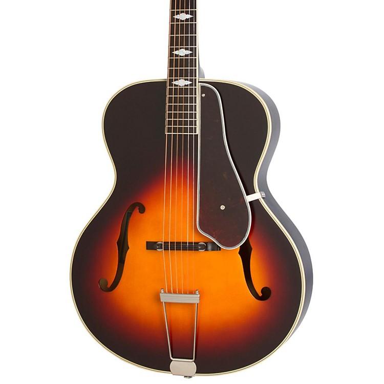 EpiphoneMasterbilt Century Collection De Luxe Classic F-Hole Archtop Acoustic-Electric GuitarVintage Sunburst