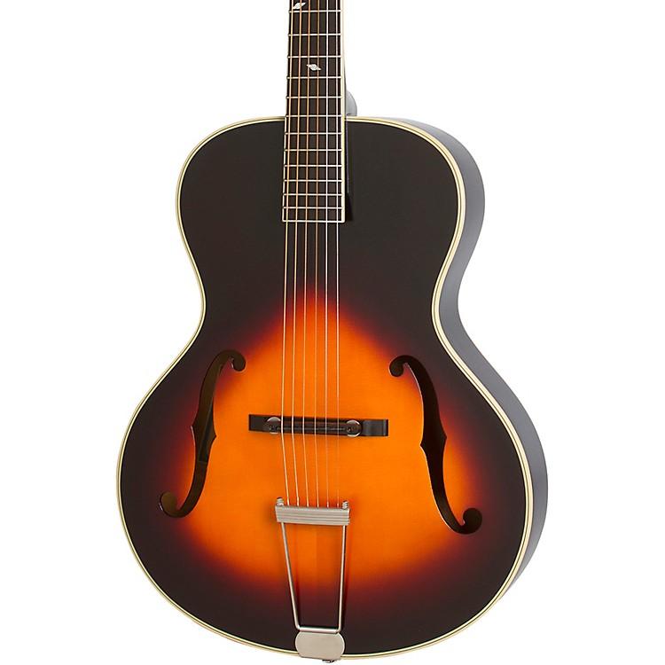EpiphoneMasterbilt Century Collection Zenith Classic F-Hole Archtop Acoustic-Electric GuitarVintage Sunburst