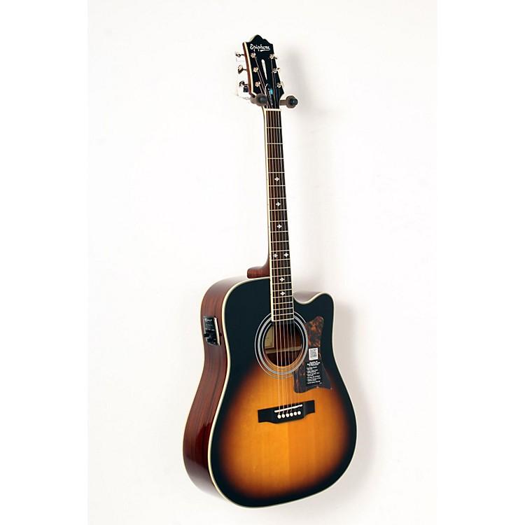 EpiphoneMasterbilt DR-500MCE Acoustic-Electric GuitarVintage Sunburst888365844718