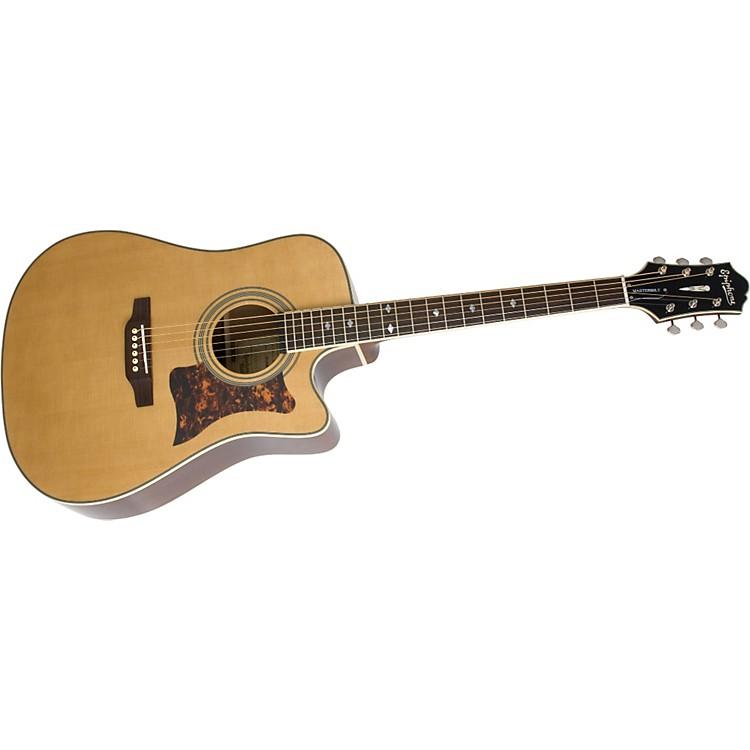 epiphone masterbilt dr 500mce acoustic electric guitar music123. Black Bedroom Furniture Sets. Home Design Ideas