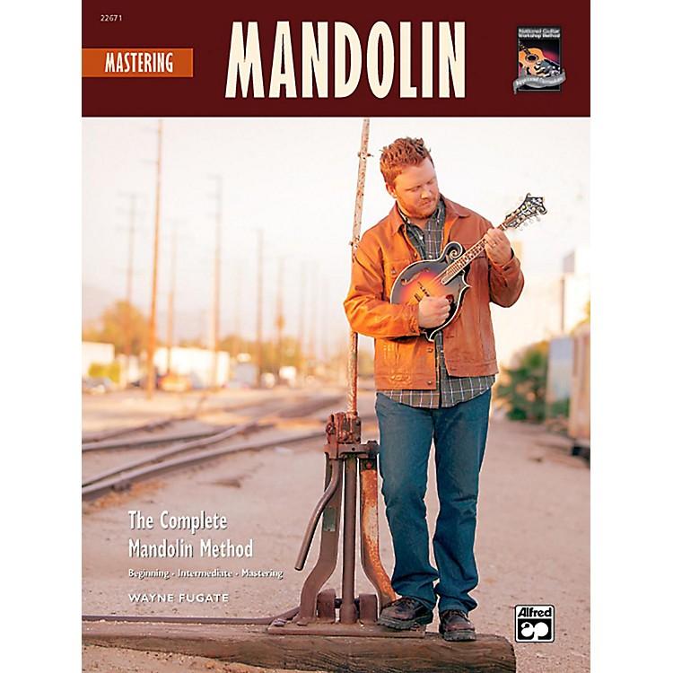 AlfredMastering Mandolin Book w/CD