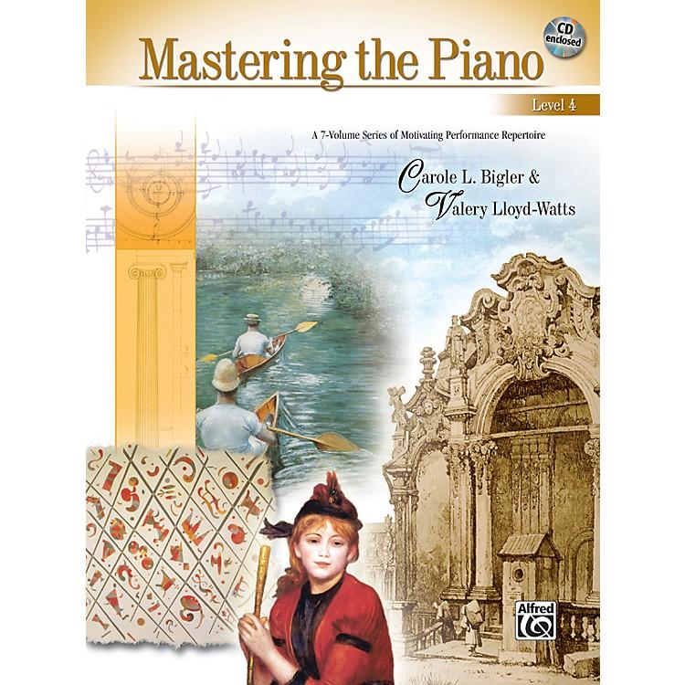 AlfredMastering the Piano Level 4 Book & CD 4