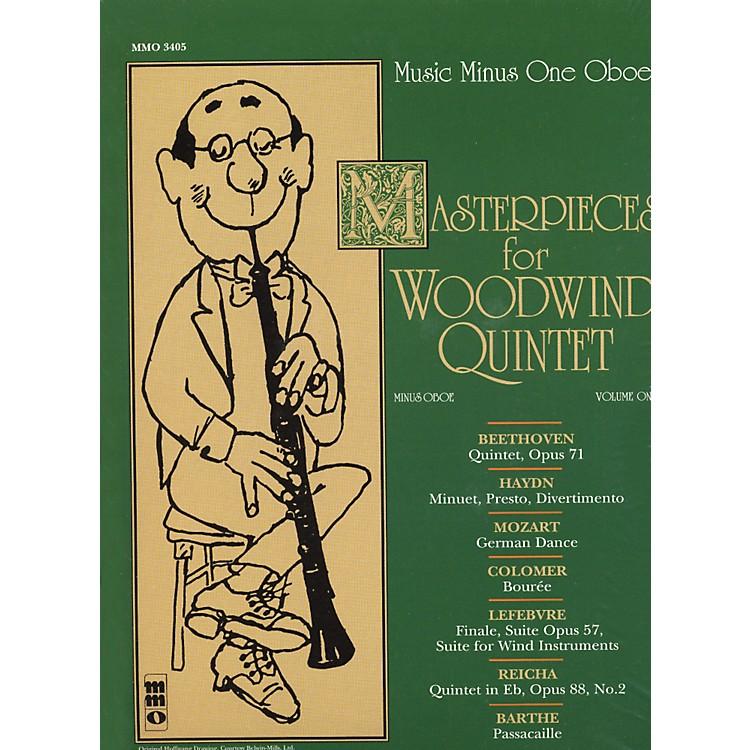 Hal LeonardMasterpieces for Woodwind Quintet Oboe