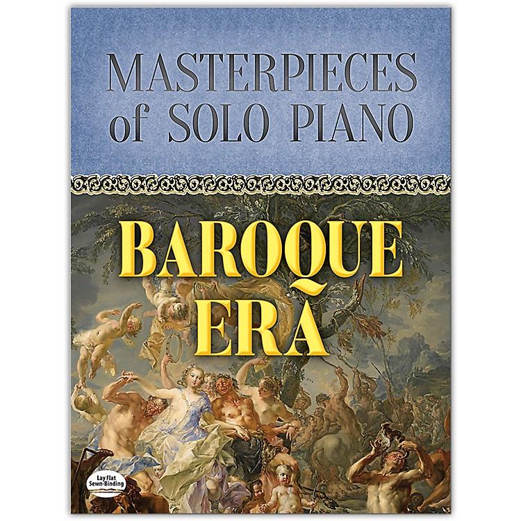 DOVERMasterpieces of Solo Piano: Baroque Era Book Intermediate