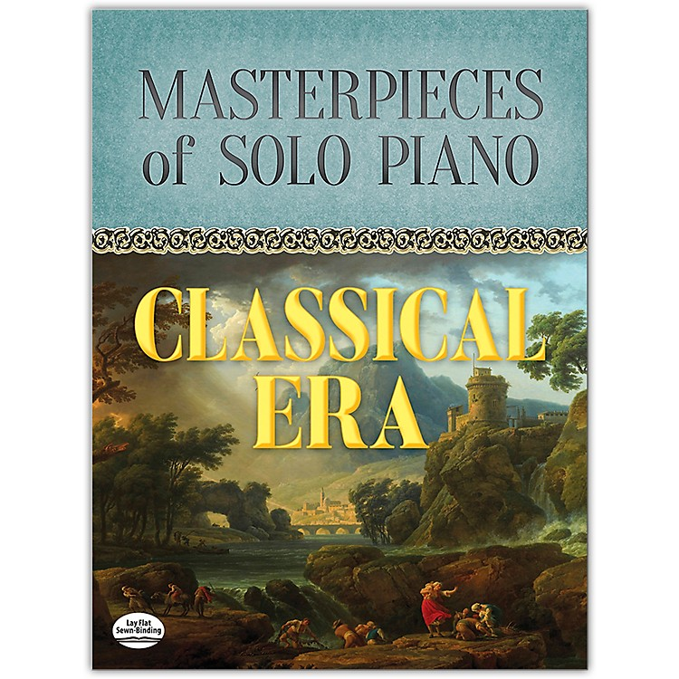DOVER Masterpieces of Solo Piano: Classical Era Book Intermediate