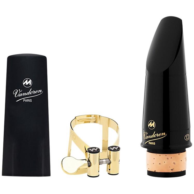 VandorenMasters 13 Series Bb Clarinet Mouthpiece CL6 FacingM/O 24K Gold Ligature