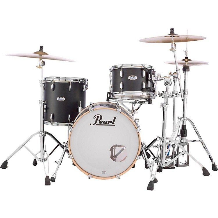 Pearl Masters Maple Complete 3-Piece Shell Pack Satin Natural Burst