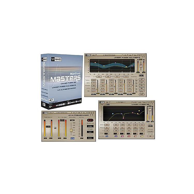 WavesMasters Native Plug-In Bundle Hybrid Software CD Win/Mac