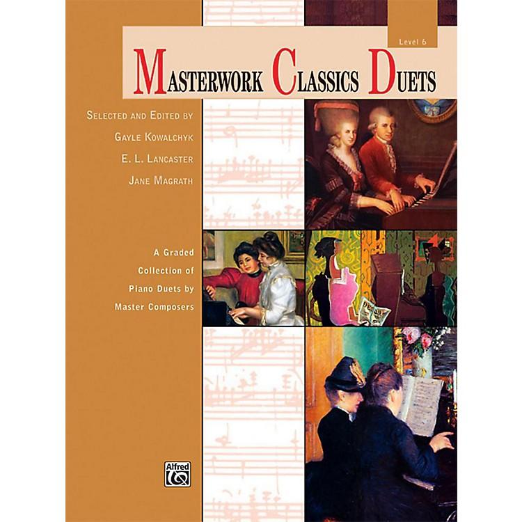 AlfredMasterwork Classics Duets Level 6 Late Intermediate