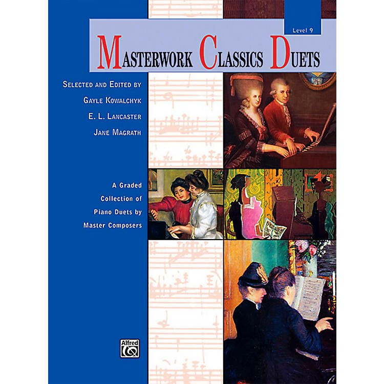 AlfredMasterwork Classics Duets Level 9 Early Advanced