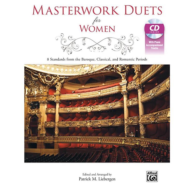 AlfredMasterwork Duets for Women Acc. CD