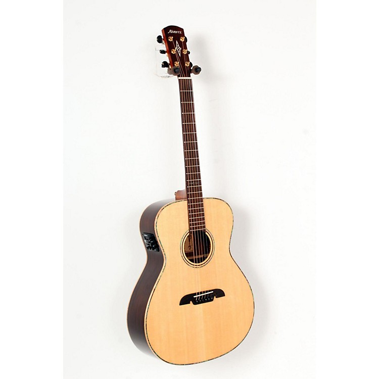 Alvarez Masterworks MGA70E Grand Auditorium Acoustic Electric Guitar Natural 888365725185