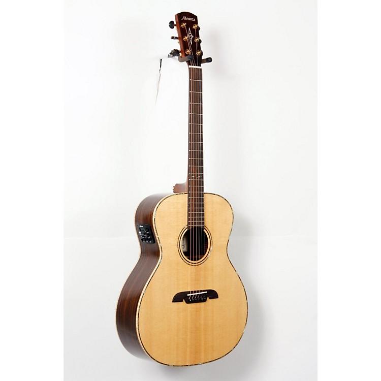 AlvarezMasterworks MGA70E Grand Auditorium Acoustic Electric GuitarNatural888365726731