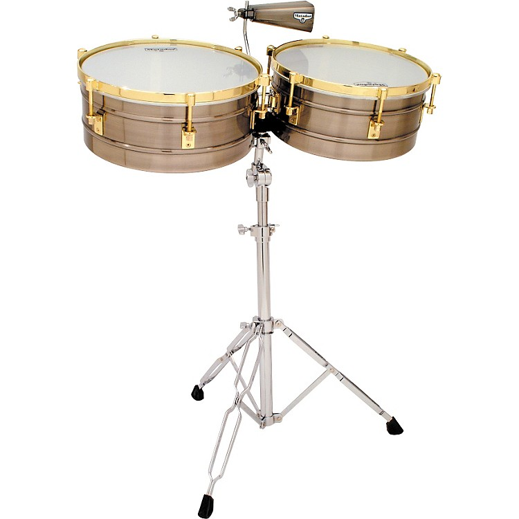 LP Matador Timbales Brushed Nickel