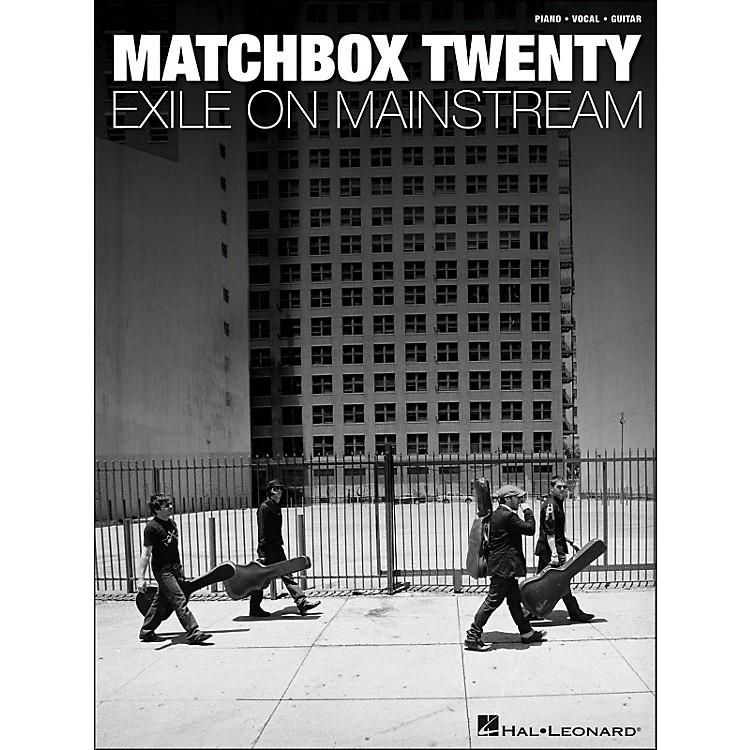 Hal LeonardMatchbox Twenty - Exile On Mainstream arranged for piano, vocal, and guitar (P/V/G)