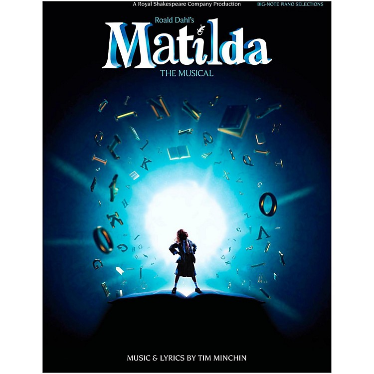 Hal Leonard Matilda - The Musical for Big Note Piano