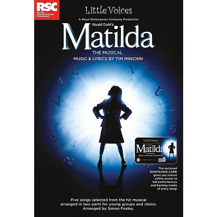 NovelloMatilda The Musical (Little Voices Collection) 2-Part