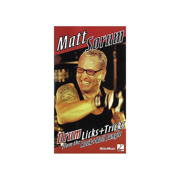 Hal LeonardMatt Sorum - Drum Licks+Tricks from the Rock'n'Roll Jungle VHS Video