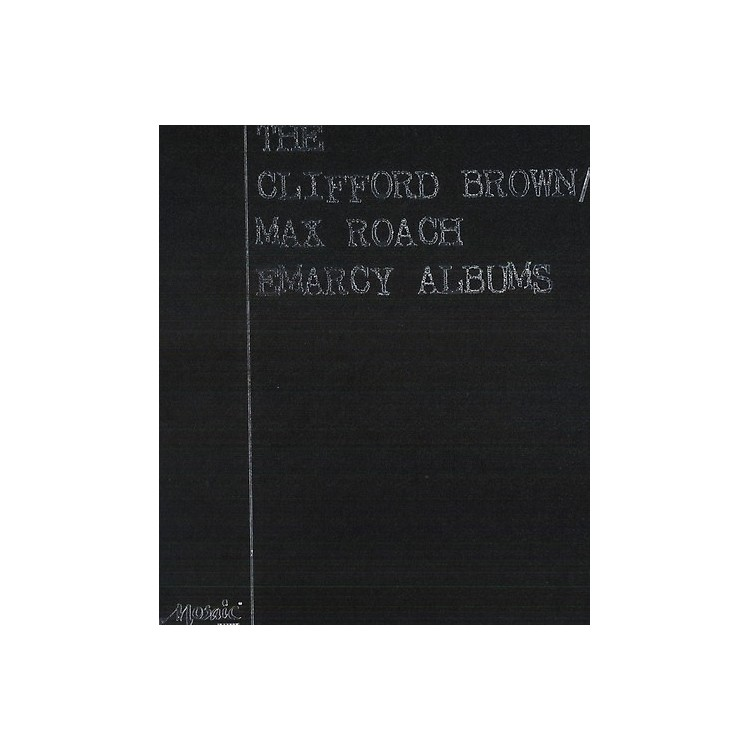 Alliance Max Roach & Clifford Brown - Clifford Brown/Max Roach Emarcy Albums