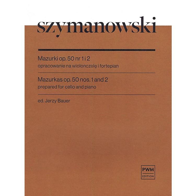 PWMMazurkas Op. 50 No. 1 and 2 Cello and Piano by Szymanowski