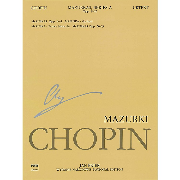 PWMMazurkas PWM Series Softcover Composed by Frederic Chopin Edited by Jan Ekier